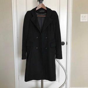 Zara feminine's long winter coat